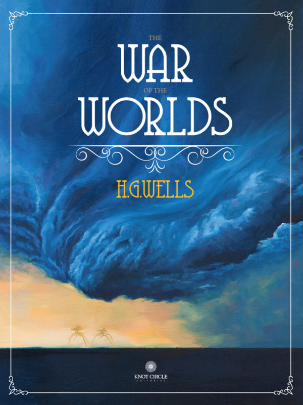Diseño de portada «The War of the Worlds» de H.G.Wells