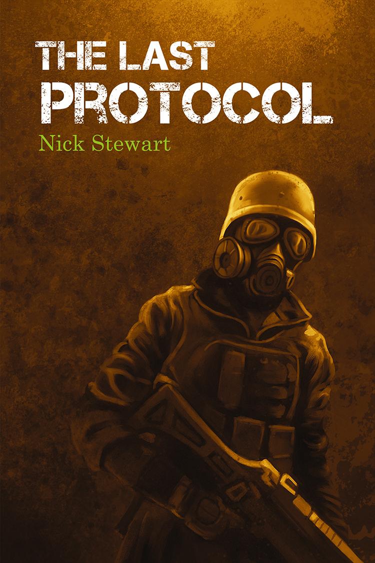 Diseño de portada de libro «The Last Protocol»