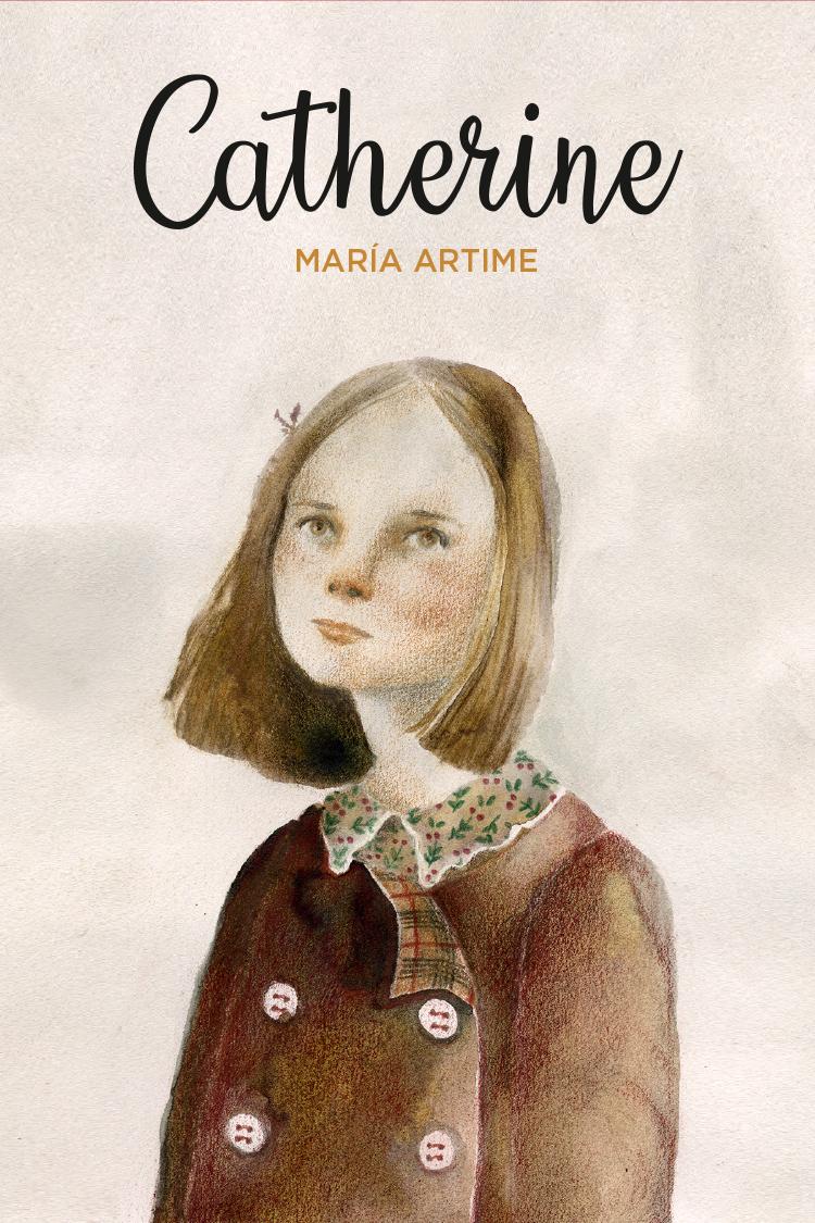 Diseño de portada eBook «Catherine»