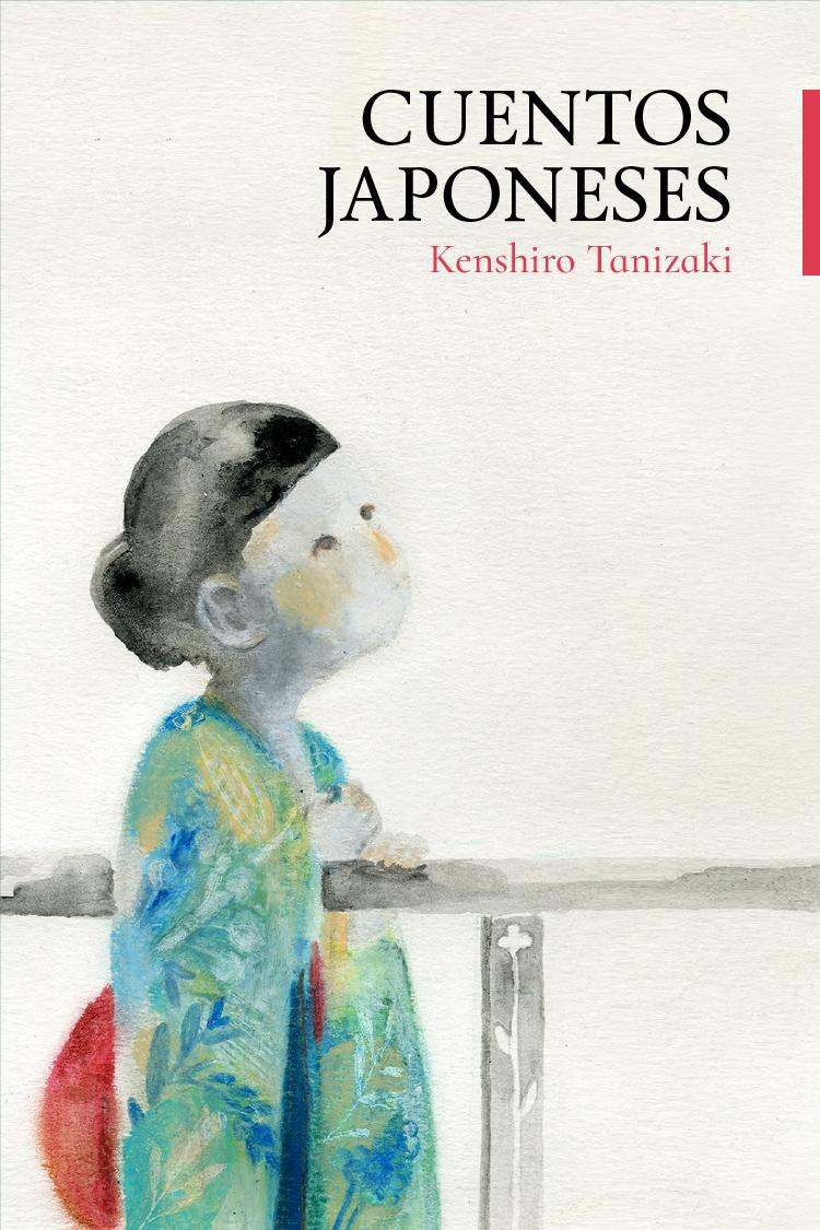 Diseño de portada libro «Cuentos Japoneses»