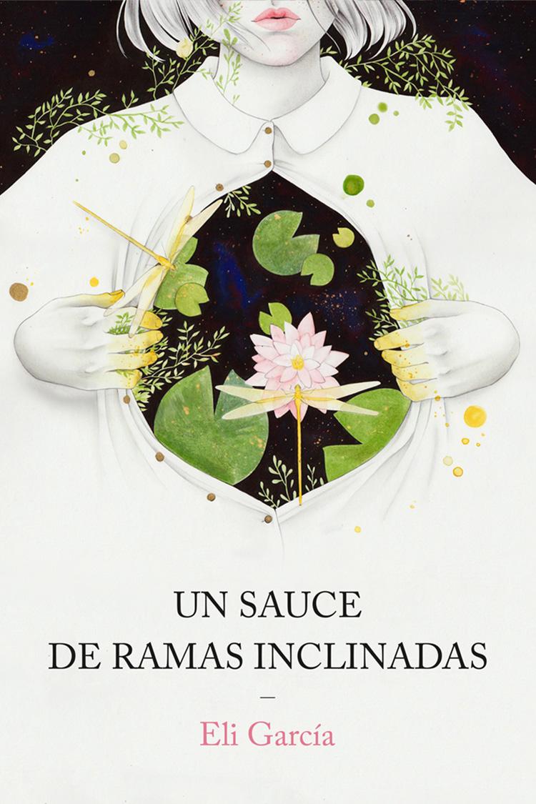 Diseño de portada ilustrada de libro