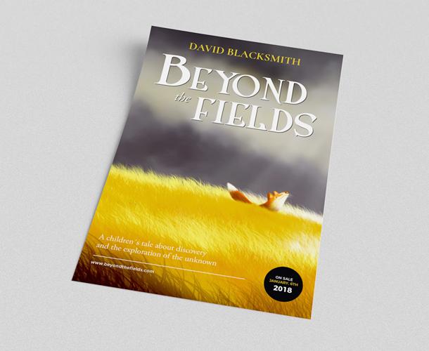Diseño de cartel promocional para autores noveles