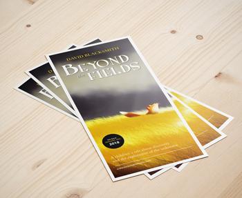 Diseño de flyer para autores noveles