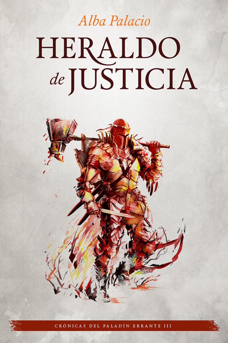 Heraldo de Justica - portada ilustrada