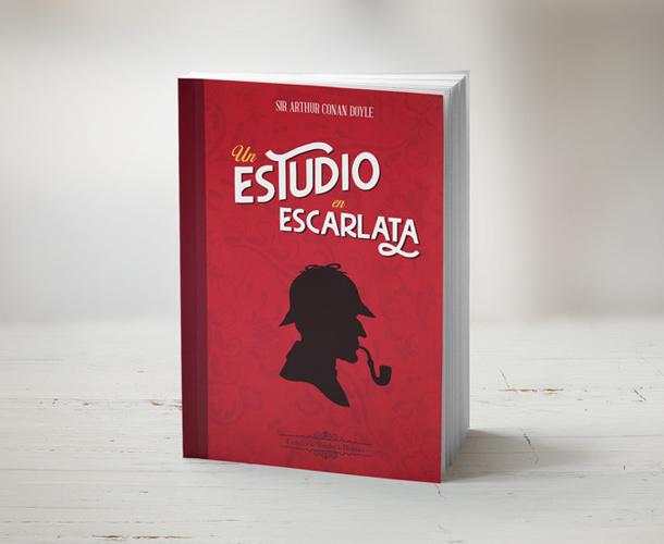 Diseño de portada tipográfica de libro
