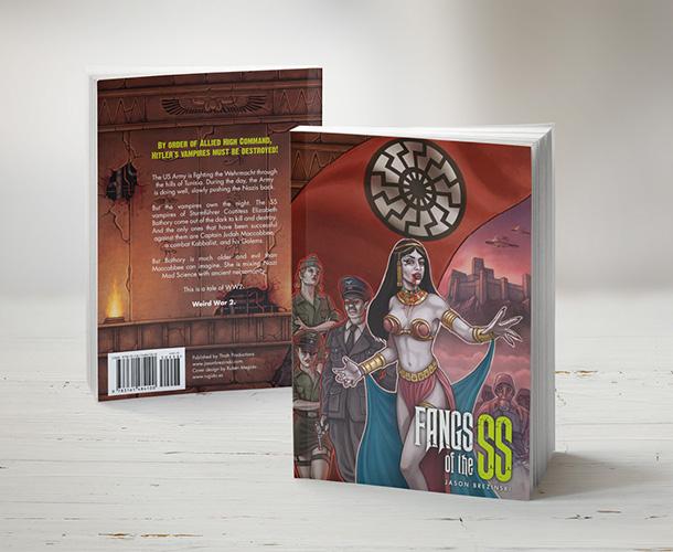 Diseño de portada y contraportada de libro impreso