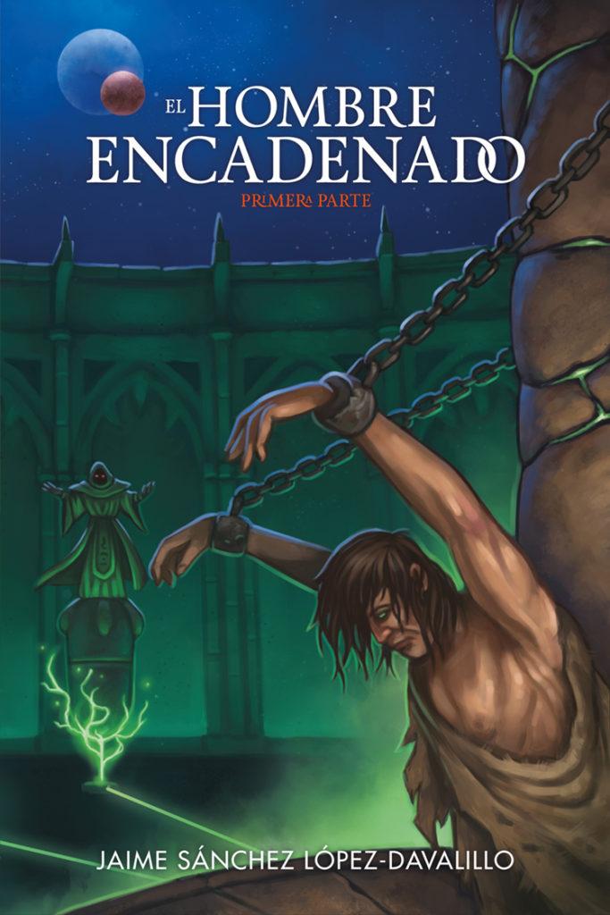 Diseño de portada para «El Hombre Encadenado»