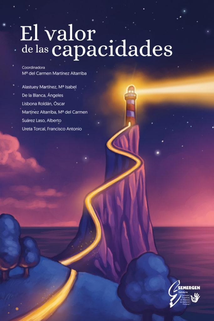 Diseño de portada para «El valor de las capacidades»