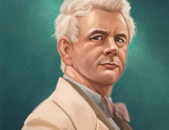 Ilustración de retrato de personajes